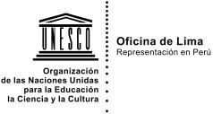 Logo UNESCO Lima