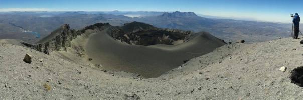 Panorámica cumbre Misti