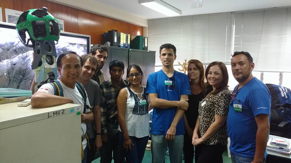 Reunión GOOGLE-CRYOPERU 19-3-16